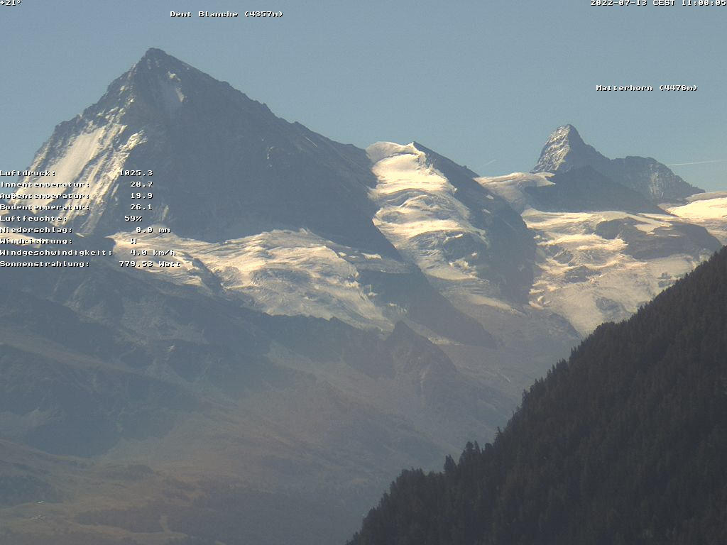 Webcam La Dent Blanche